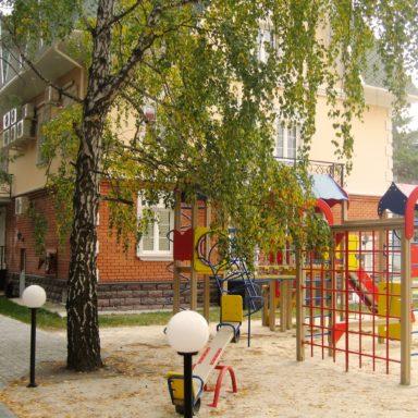 Детская игровая площадка в Баден-Баден