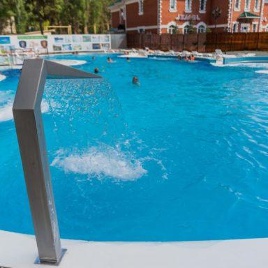 Открытый бассейн в Челябинске