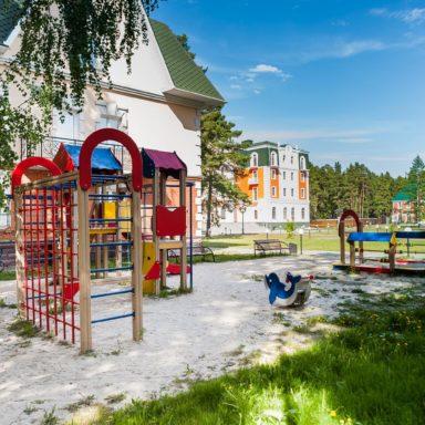 Современные детские площадки в Баден-Баден