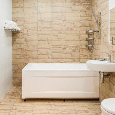 Ванная в номере Люкс в Баден-Баден