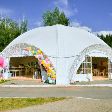Свадебный шатёр в Баден-Баден