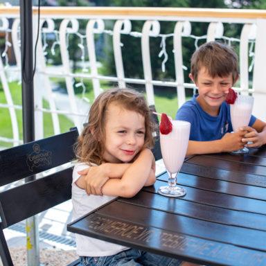 Отдых с детьми в кафе Thermal в Баден-Баден