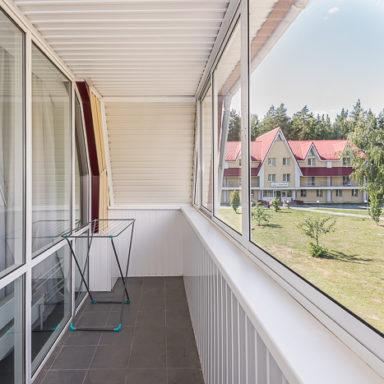 Балкон в номере Баден-Баден