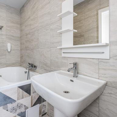 Ванная комната в номере Баден-Баден