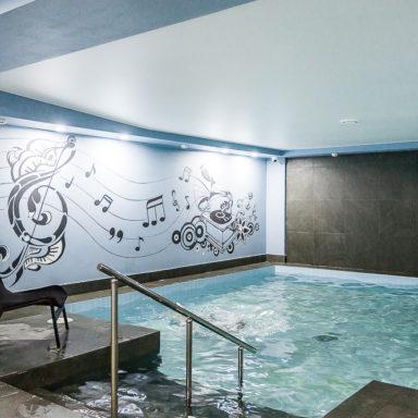 Музыкальный авторский бассейн в Баден-Баден