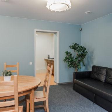 Апартаменты с кухней и столовой в Баден-Баден