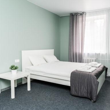 Спальня в апартаментах Баден-Баден