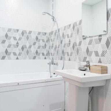 Ванная комната в коттедже в Баден-Баден