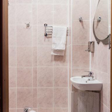 Ванная в коттедже Баден-Баден
